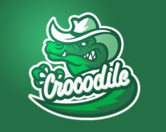 Currently browsing Crocodile for your design inspiration Typography Logo, Logo Branding, Brand Identity, American Logo, Crocodile Logo, Rick Y Morty, Esports Logo, Sports Team Logos, Mascot Design