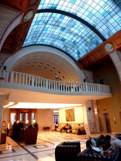 Lobby of the Hotel Zara-Budapest