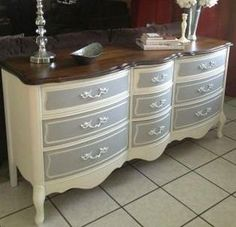 white and gold french provincial furniture - Google Search
