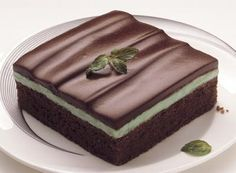 Chocolate Mint Bars. Mint cream center: Combine 2 cups powdered sugar, 1/2 cup softened butter or margarine and 2 tablespoons green creme de menthe (OR 1 tablespoon water plus 1/2 to 3/4 teaspoon mint extract and 3 drops green food color may be substituted for creme de menthe) in medium bowl; beat until smooth. Melt 6 tablespoons butter or margarine and 1 cup HERSHEY'S Semi-Sweet Chocolate Chips in small saucepan over very low heat. Remove from heat; stir until smooth. Cool slightly.