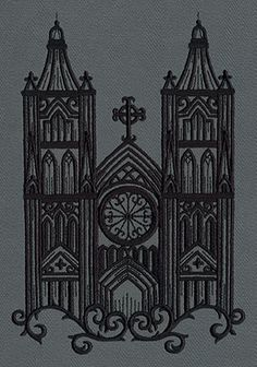 Gothic Gala - Cathedral | Urban Threads: Unique and Awesome Embroidery Designs