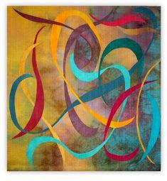 Play of Lines XIV by Uta Lenk