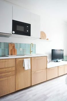 Galley Kitchen Remodel, Attic Storage, Ikea Kitchen, Interior Design Kitchen, Home Living Room, Home Kitchens, House Plans, Ikea Hack, Home Decor