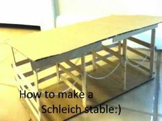 ▶ How to make a Schleich Stable - YouTube