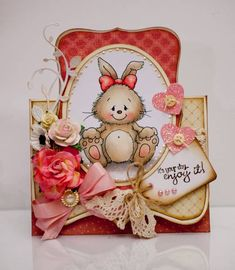 sweet image and fab card shape