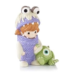 Hallmark 2013 Boo and Mike - Disney Pixar Monsters Inc. (Precious Moments) QXD6135