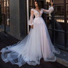 Wedding Dress Trends to Inspire Your - . - Bridal Gowns - Wedding Dress Trends to Inspire Your – … - Wedding Dress Tea Length, Boho Wedding Dress, Wedding Wear, Wedding Gowns, Tulle Wedding, Amazing Wedding Dress, Wedding Nails, Wedding Ceremony, Bling Wedding