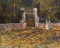 Vincent van Gogh: The Paintings (Entrance of Voyer d'Argenson Park at Asnières)