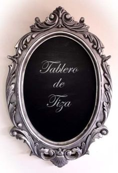 Marco Vintage De Pared Con Tablero