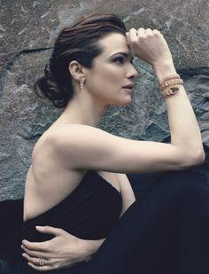 Rachel Weisz for Bulgari. Photo to Annie Leibovitz.