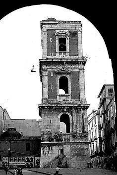 Italian Vintage Photographs ~ #Italy #Italian #vintage #photographs ~ Napoli - Santa Chiara 1977