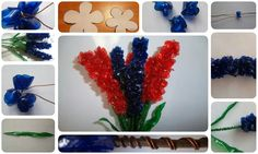 decorative lily from plastic bottle | Crazzy Craft