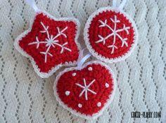 Traditional Scandinavian Ornaments | Free Crochet Pattern