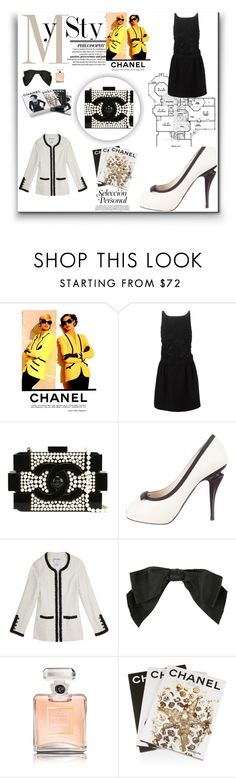 """""""www my style"""" by www-whatwomenwan1 on Polyvore featuring Chanel, Assouline Publishing, women's clothing, women, female, woman, misses and juniors"""