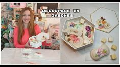 Como hacer decoupage en jabones ♥ Marina Capano Decopage, Gallery Wall, Videos, Frame, Youtube, Home Decor, Decorative Soaps, Decorated Candles, How To Make Soap