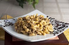 Cheeseburger Pasta -- This super easy recipe takes ingredients that ...