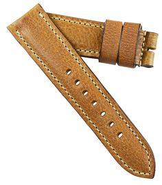 New from Mario Paci.MP for OEM Panerai Tang buckles. Rich Tuscan leathers now made as a Panerai watch strap replacement. Panerai Watch Straps, Watch Strap Replacement, Panerai Watches, Golden Brown, Leather Accessories, Leather Working, Leather Bag, Leather Bracelets, Color