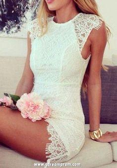 lace dress homecoming dress
