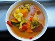 These frigid winter days call for a hot soup like this. This vegetable curry combines the flavors of Thailand with some of winter's best vegetables. Oh and it's healthy, too,...