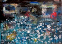 """#Abstract painting """"crossing the Styx"""" by Saatchi #art artist #marinadewit"""