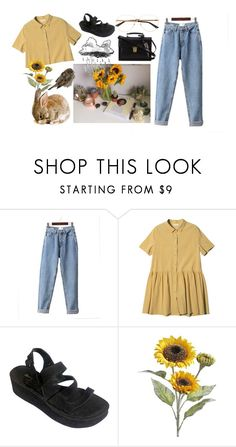 """""""~Windy Spring~"""" by elle01-1 ❤ liked on Polyvore featuring StyleNanda, Robert Clergerie, Pier 1 Imports and Yves Saint Laurent"""