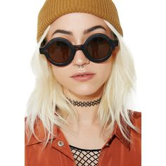 Round Tortoise Shell Sunglasses ($20) ❤ liked on Polyvore featuring accessories, eyewear, sunglasses, brown round sunglasses, round tortoise sunglasses, round frame glasses, circle sunglasses and tortoise sunglasses