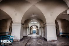 The Royal Hospital Haslar was the largest hospital in England. It had a long and distinguished history serving military personnel, and later civilians. Nurse Stuff, Military Personnel, Portsmouth, Hospitals, Abandoned Places, Arcade, Countryside, Serenity, Nursing