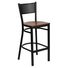 Flash Furniture Hercules Metal Bar Stool | from hayneedle.com