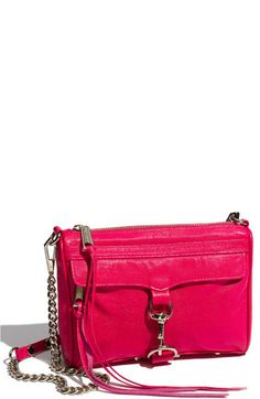rebecca minkoff mini mac croc embossed clutch