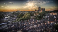 My last view of Durham England as left it on a train bound for. Durham England, North East England, Seattle Skyline, New York Skyline, Durham City, St Johns College, Northern England, Most Beautiful Cities, North Yorkshire