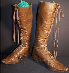 Victorian ladies hiking boots