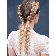 5 motivos para apostar nas boxer braids! ❤ liked on Polyvore featuring accessories, hair accessories and hair