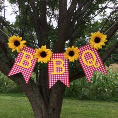 Excited to share this item from my shop: BBQ Sunflower Banner Customizable Baby Shower Barbecue Picnic Family Reunion Bridal Wedding Birthday Anniversary Gingham Picnic Baby Showers, Elephant Baby Showers, Couples Baby Showers, Baby Q Shower, Baby Shower Themes, Bridal Shower, Shower Ideas, Bbq Party Decorations, Birthday Bbq