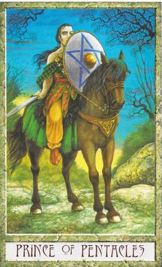 Divinationery: Journaling the Knight of Pentacles Sometimes our best weapon is not our sword but our shield.