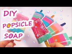 DIY How To Make POPSICLE!! Soap 아이스크림 비누 만들기 놀이 장난감