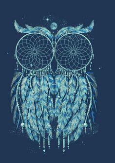 owl dream catcher. Tattoo ideas