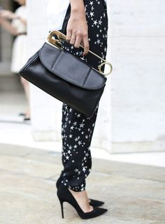 vintage little black bag #Fashiolista #Inspiration