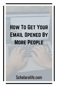 Discover how to get your email opened by more people. Learn how to increase your open rate. You will find out how to write a good subject line. Best Email, Your Email, Email Subject Lines, Email Marketing Strategy, Email List, Copywriting, You Got This, Encouragement, Self