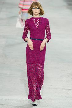 Chanel Spring 2014 Ready-to-Wear Fashion Show - Holly Rose Emery (Next)