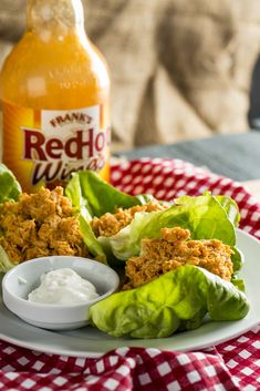 PSMF Buffalo Chicken Wraps
