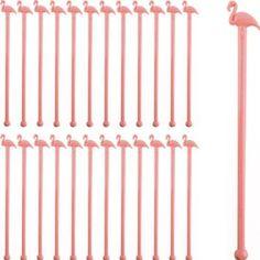 Amazon.com: Pink Flamingo Cocktail Stirrers-Set of 24: Kitchen & Dining