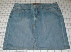 5 Ways to Turn Jeans Into a Skirt: Turn Jeans into a Short Skirt
