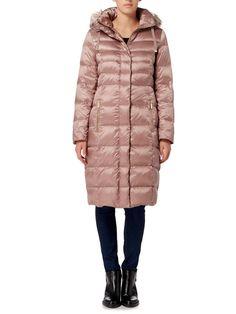 MONCLER - Jasminum longline quilted down jacket | Selfridges.com | [ PUFFA ] | Pinterest | Moncler and Coats