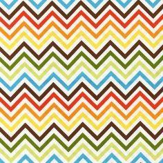 Ann Kelle - Remix - Zig Zag Stripe in Bermuda