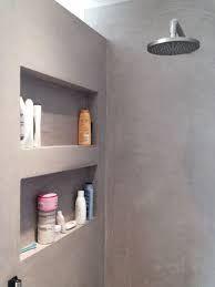 Recessed shelves and recessed lighten I the shower Bathroom Shelves, Small Bathroom, Master Bathroom, Bathroom Grey, Shower Shelves, Bathroom Ideas, Bad Inspiration, Bathroom Inspiration, Recessed Shelves