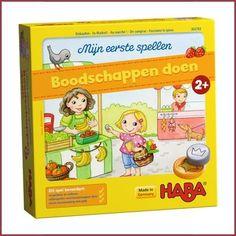 Haba Mijn eerste spel - Boodschappen doen, weer een lief spel voor de kleinsten. another lovely game for the little ones by Haba