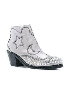 McQ Alexander McQueen Solestice zip boots