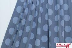 lillestoff » Big Dots, grau « // ausverkauft