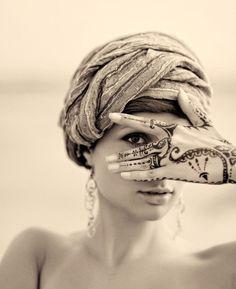 hand tattoos.