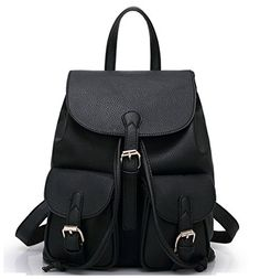 Greeniris Women Faux Leather Backpack Fashion School Back... https://www.amazon.com/dp/B01C28BWTU/ref=cm_sw_r_pi_dp_oqfBxbPB028EW